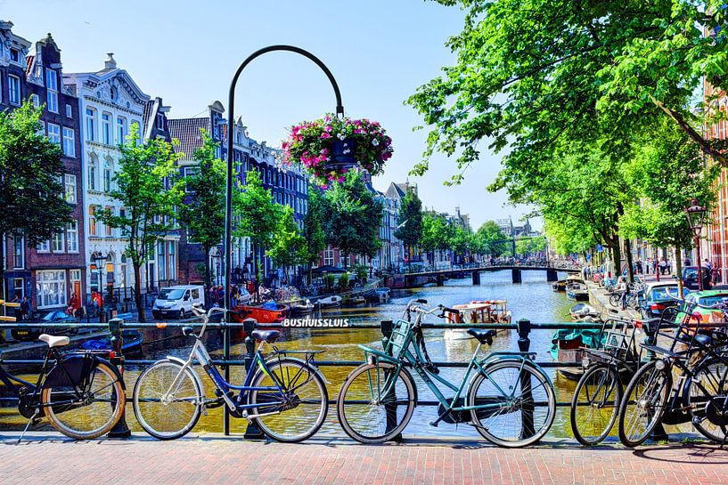 Bushuissluis Amsterdam van Hendrik-Jan Kornelis