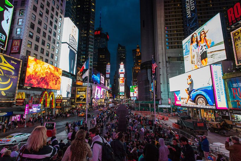 Times Square, New York van Capture the Light