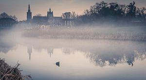 Sint-Jan vanuit het Bossche Broek van