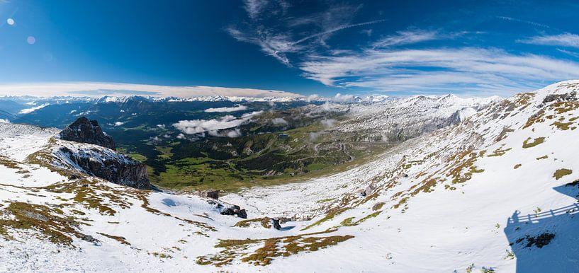 Switzerland mountains - 1 van Damien Franscoise