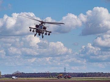 AH64D Apache Kampfhubschrauber. von Vincent Bottema