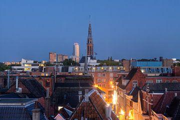 Uitzicht Sint-Jozefkathedraal en DUO van Frenk Volt