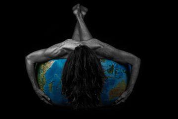 wereldbol van Jiske Wijmans @Artistieke Fotografie