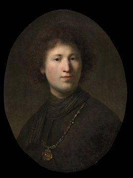Ein junger Mann mit einer Kette, Rembrandt van Rijn und Studio