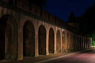 Mur de la ville médiévale de Amersfoort sur Anton de Zeeuw
