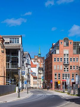 Gebäude in der Hansestadt Rostock von Rico Ködder