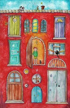 Knock knock... van keanne van de Kreeke