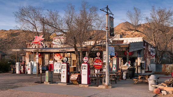 Tankstelle an der Route 66 in Arizona