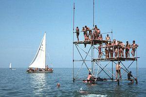 Kijken naar Mario 1961 Cattolica Italië van