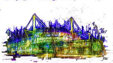 Stadion in Dortmund von Johnny Flash