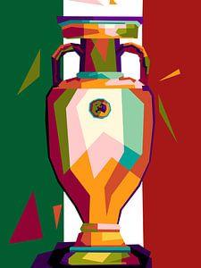Italy Champion popart von miru arts