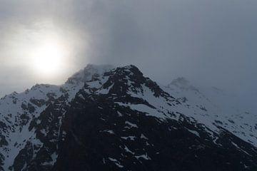 berglandschap spitsbergen van
