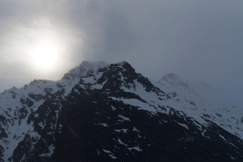 berglandschap spitsbergen van Helene de Jongh