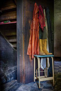 Urbex: Kellertür von Carola Schellekens