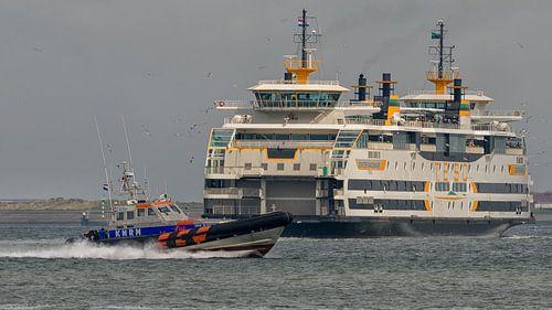 Dutch RNLI Joke Dijkstra & Texel Ferry Dokter Wagemaker sur