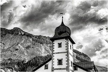 Kirche in den Bergen von jacky weckx