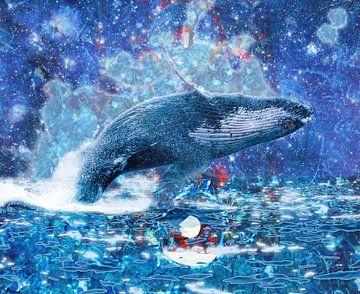 Fliegender Wal von Giovani Zanolino