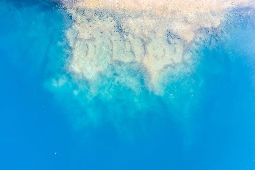 Onderwater strand van Bernardine de Laat