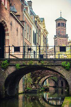 Kromme Nieuwegracht Utrecht met Ottonekerk van