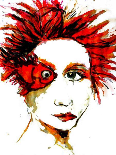 Femme Fatale Rouge von Anita Snik-Broeken