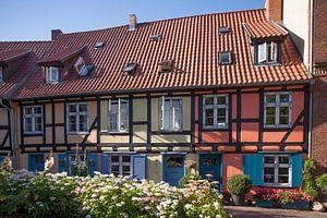 Stralsund :  Johanniskloster, Innenhof