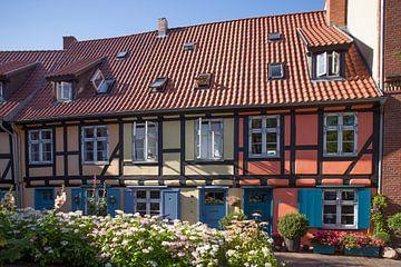Stralsund :  Johanniskloster, Innenhof von Torsten Krüger