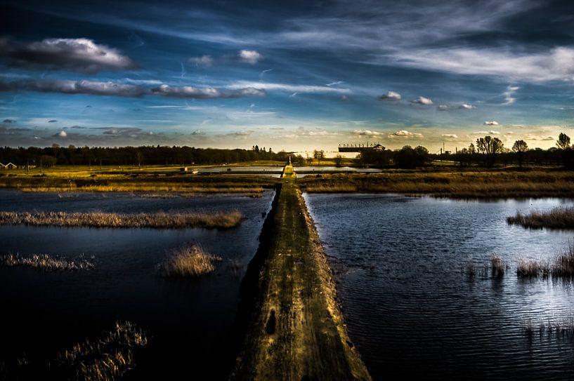 Landschap Kristalbad Overijssel van Michiel ter Elst