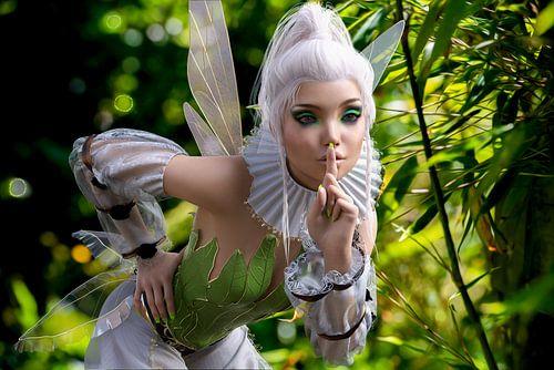 Garden Fairy - Elf in Tuin van ellenilli .