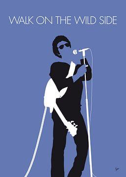 No068 MY LOU REED Minimal Music poster van Chungkong Art
