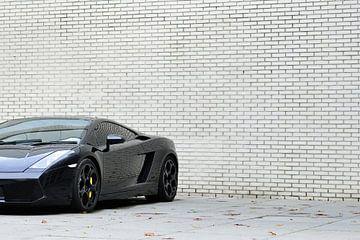 Lamborghini Gallardo en noir sur