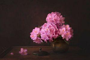 Nature morte florale, Rhododendron