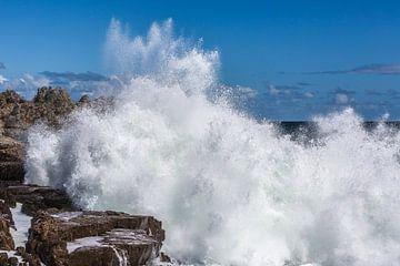 Water explosie van Peter Leenen