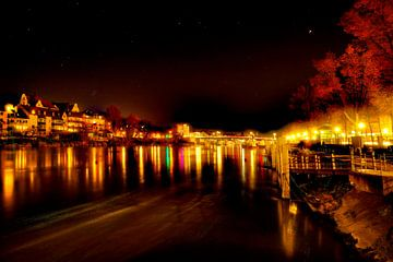 De lichten van Regensburg van Roith Fotografie