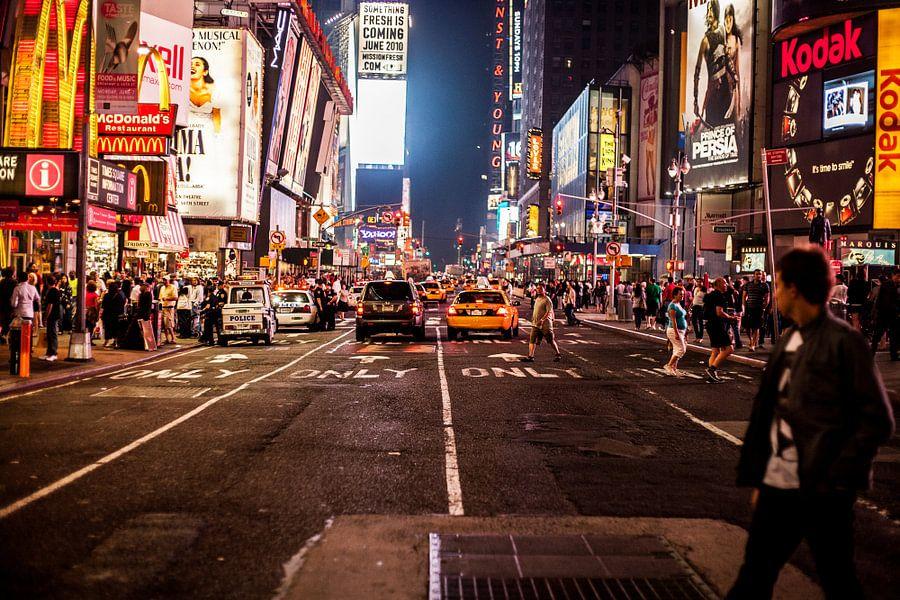 New York Street Life van Tom Roeleveld