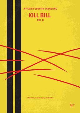 No049 My Kill Bill - part 2 minimal movie poster van Chungkong Art
