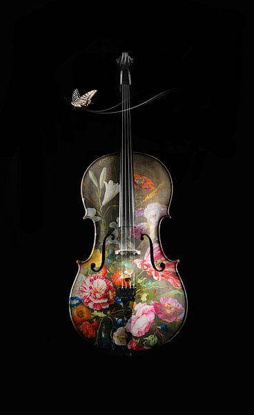 La Mélodie en Fleurs van Marja van den Hurk