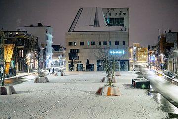 Sneeuwval Groningen