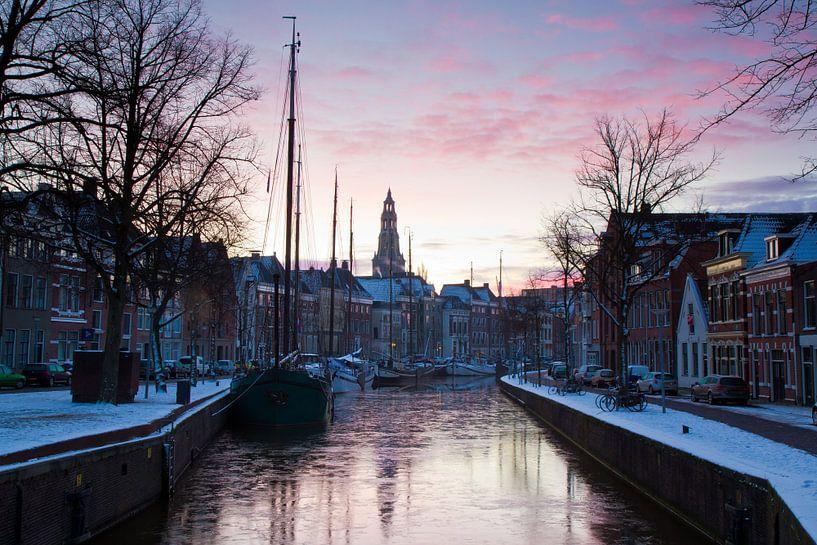 Winter in Stad van robert wierenga
