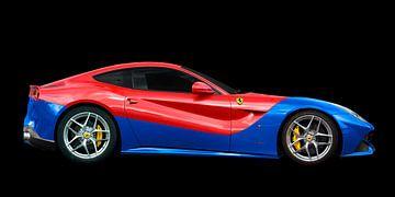 Ferrari F12 Berlinetta in Duotone