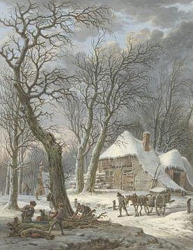 Winterlandschaft, Pieter Pietersz. Barbiers