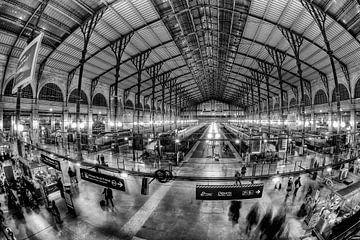 Gare du Nord Paris sur Esther Seijmonsbergen