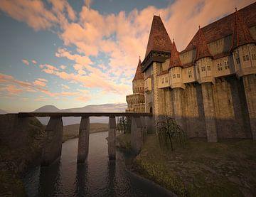 Schloss mit Brücke_HMS von H.m. Soetens