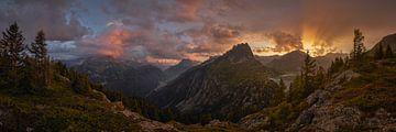 Le Barrage Sonnenuntergang von Keith Wilson Photography