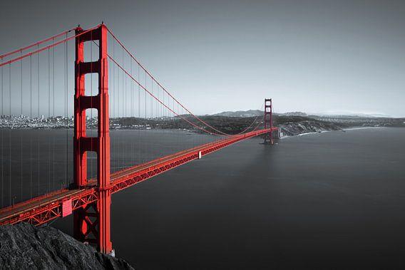 Golden Gate van Ronnie van Westfoto