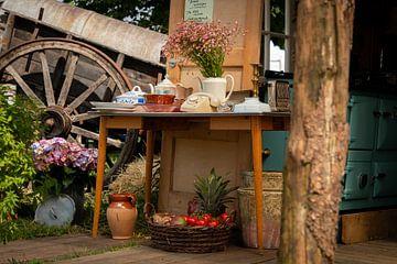 Gartentisch von Rianne Fotografeert