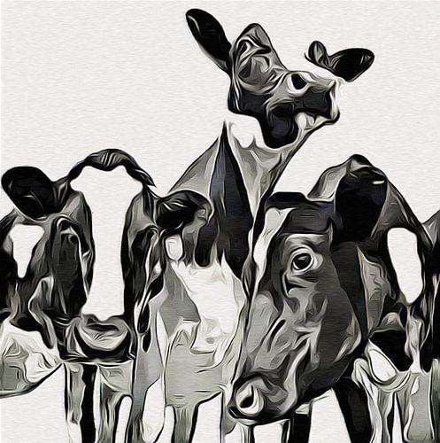 Koeien (Zwart-wit)