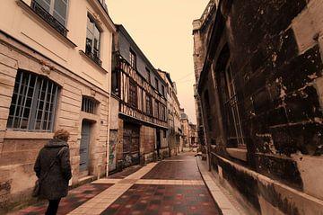 Oude stad Rouen van Erik Reijnders
