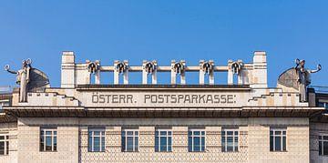 Wiener Postsparkasse à Vienne sur Werner Dieterich