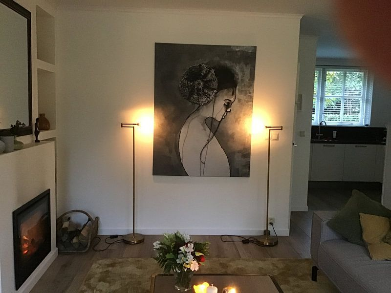 Kundenfoto: Twenty - Minimalismus von Kim Rijntjes, auf leinwand