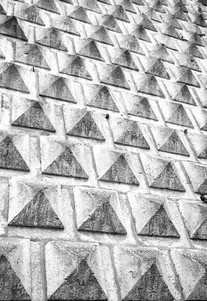 Mini piramide patroon van Monique Tekstra-van Lochem